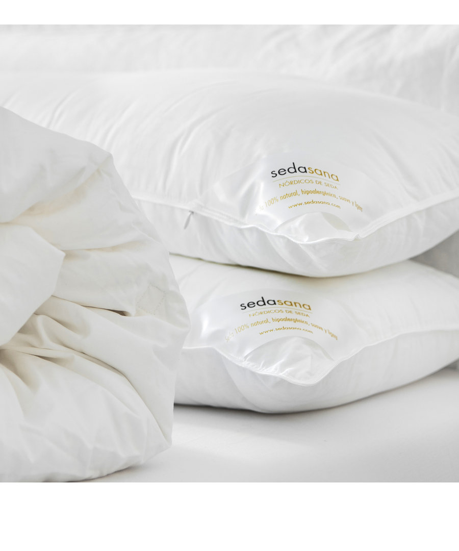 Pack 2 Silk Pillows